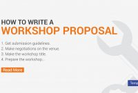 How To Write A Workshop Proposal  Pdf Word  Free  Premium Templates with regard to Training Proposal Template
