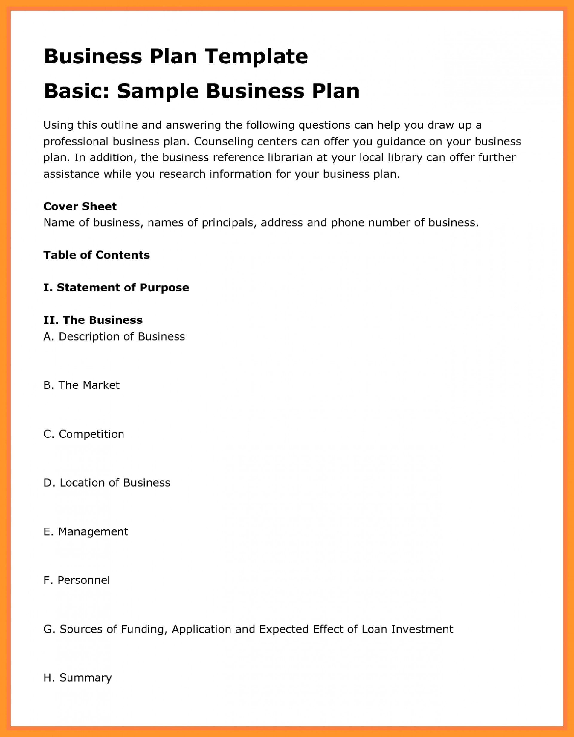Hsbc Business Plan Template Sba Gov Sample Of Proposal Examples Intended For Government Proposal Template
