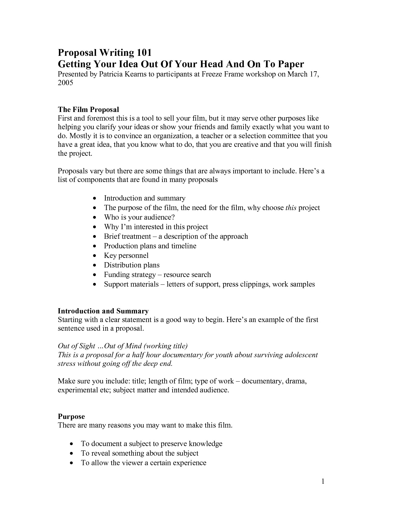 Images Of Documentary Film Proposal Template  Bfegy Intended For Documentary Proposal Template