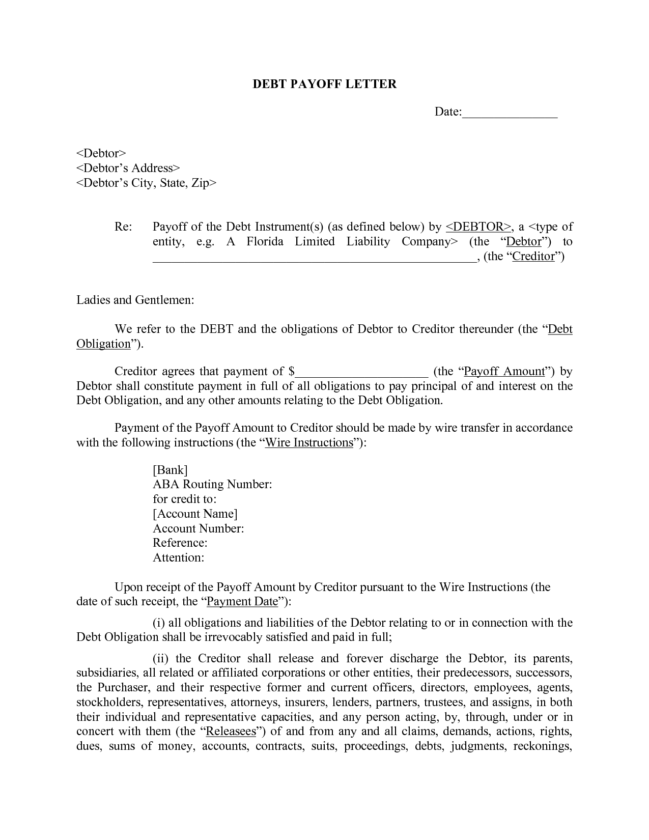 Images Of Pay Off Statement Template  Masorler Regarding Payoff Letter Template