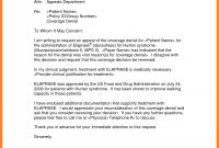 Insurance Denial Letter Template  Sales Intro Letter with Insurance Denial Appeal Letter Template