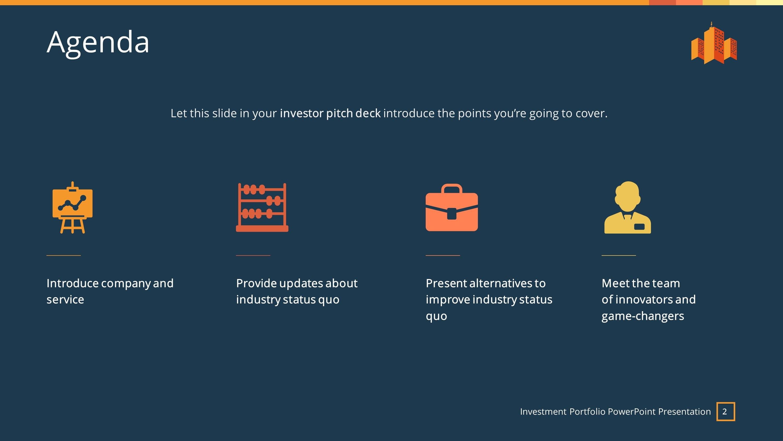 Investment Premium Powerpoint Template  Slidestore Inside Investor Presentation Template