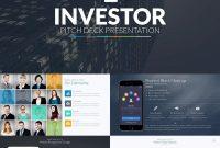 Investor Pitch Deck  Powerpoint Template  Slide Deck Ideas within Investor Presentation Template