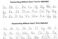 Janet Jenkins  Bonnieville Elementary for Handwriting Without Tears Letter Templates