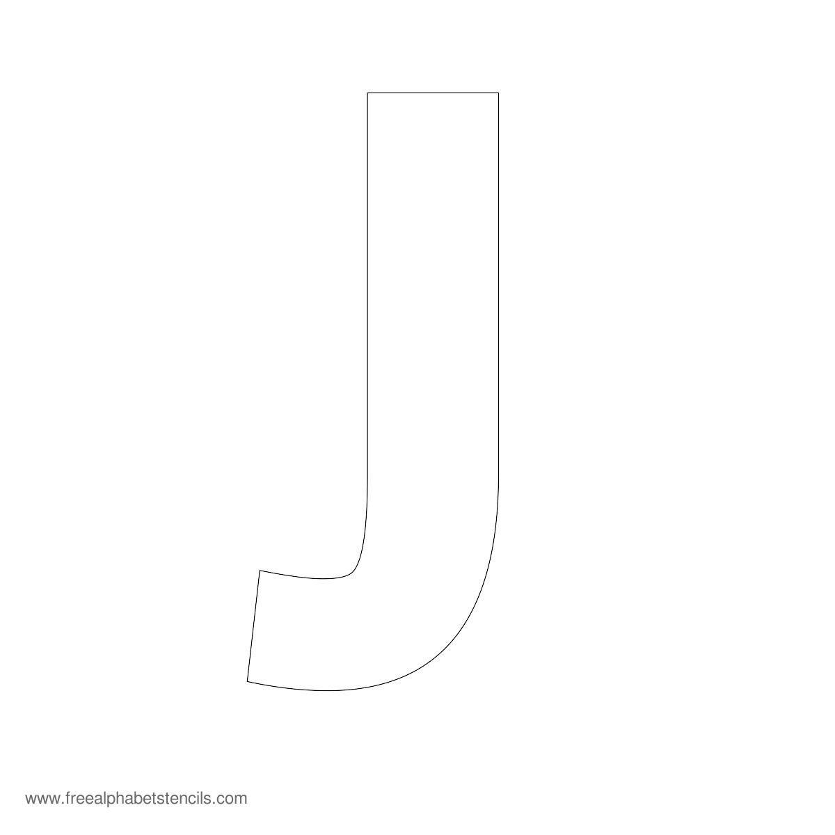 Large Alphabet Stencils  Freealphabetstencils Inside Large Letter Templates