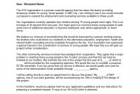 Letter Of Intent Grant Proposal Example Valid Format For Project intended for Writing A Grant Proposal Template