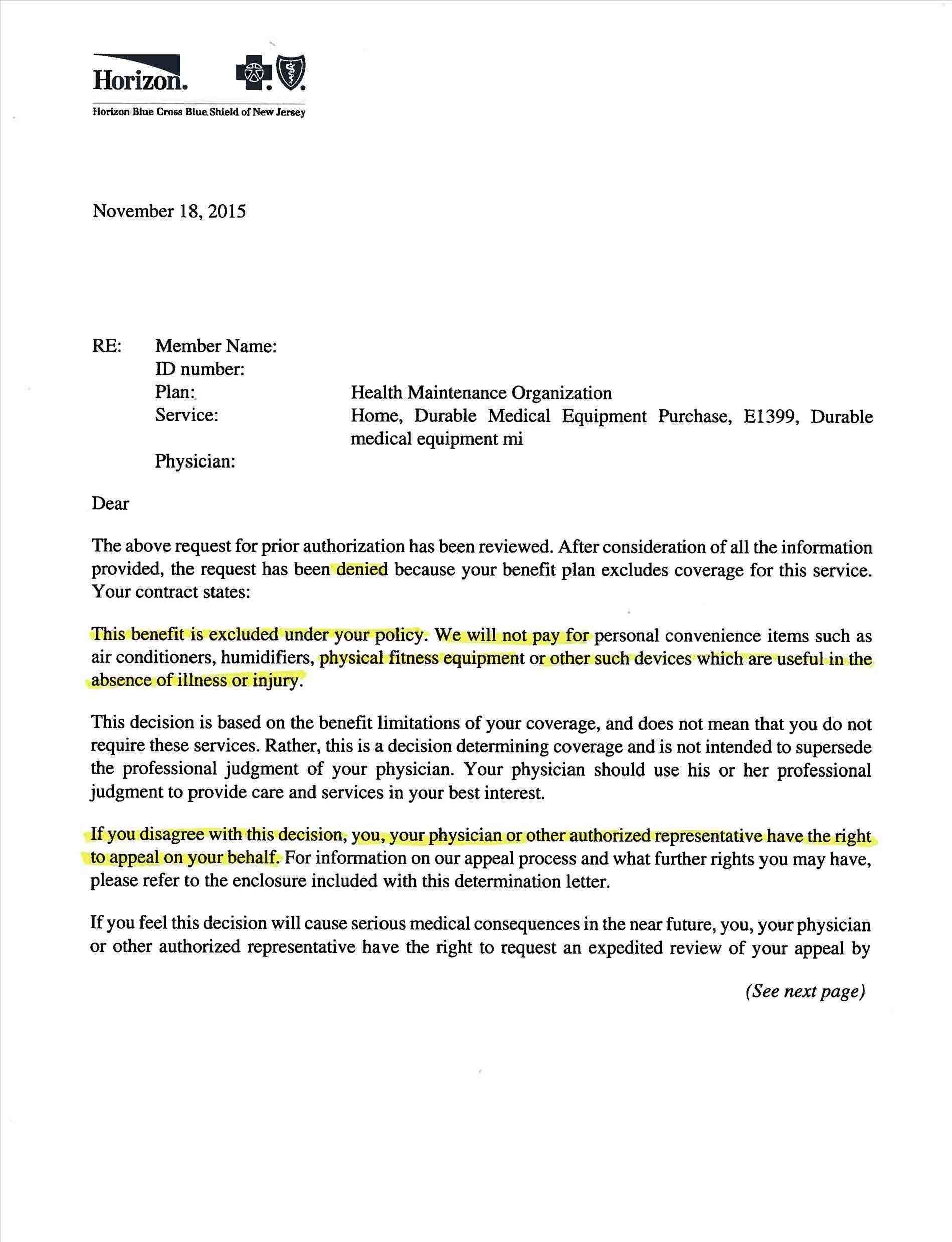 Letter Of Medical Necessity Template  Free Tamplate  Letter Sample With Letter Of Medical Necessity Template