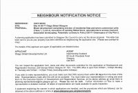 Letter Templatening Permission With Of Objection To Application in Letter Of Objection Template