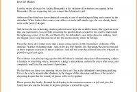 Letter To Judge  Mac Resume Template Regarding How To Address A regarding Letter To Judge Template