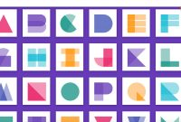 Material Design Alphabet In Css inside Material Letters Template