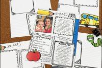 Meet The Teacher Letter Templates  Cassie Dahl Tpt Store Catalog for Meet The Teacher Letter Template