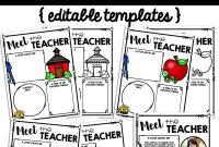 Meet The Teacher Template Editable  Meet The Teacher Letter intended for Meet The Teacher Letter Template