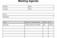 Meeting Schedule Format Excel Template Daily Agenda Sample Calendar inside Plc Agenda Template