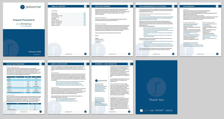 Modern Upmarket Print Design For Tj Griffinkousik Design With Free Proposal Templates For Word