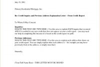 Mortgage Letter Of Explanation Template  Tourespo pertaining to Letter Of Explanation Template