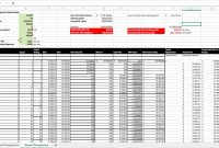 Net Present Value Calculator Excel Template  Spreadsheet Collections intended for Net Present Value Excel Template