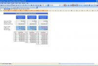 Net Present Value Calculator » Exceltemplate inside Net Present Value Excel Template