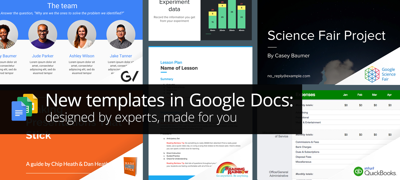 New Professionallydesigned Templates For Docs Sheets  Slides With Regard To Proposal Template Google Docs