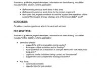 One Page Proposal Summary ⋆ Wwwscotlandbycamper with One Page Project Proposal Template