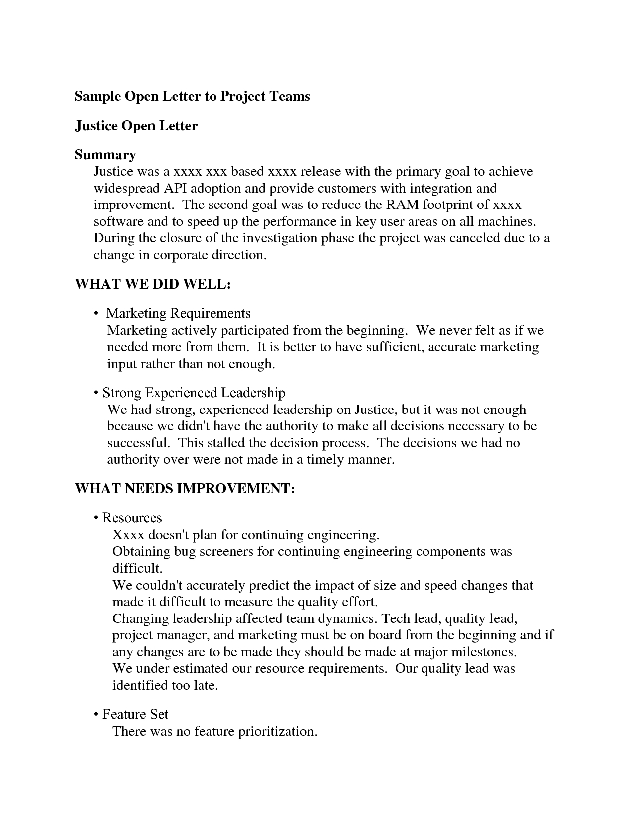 Open When Letters Examples  Gplusnick Inside Open When Letters Template