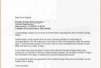 Penalty Appeal Letter Sample  Appeal Letter inside Pcn Appeal Letter Template