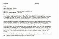 Penalty Fare Appeal Letter Template – Prahu intended for Pcn Appeal Letter Template