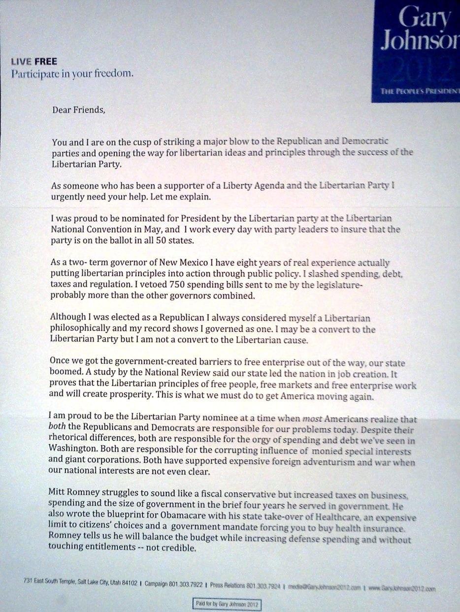 Political Fundraising Letter Sample  Fundraising Letters  Appeals Regarding Political Fundraising Letter Template