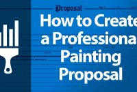Professional Painting Proposal  How To Use One To Boost Your Sales within Painting Proposal Template