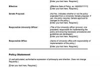 Professional Policy Proposal Templates  Examples ᐅ Template Lab with Policy Proposal Template