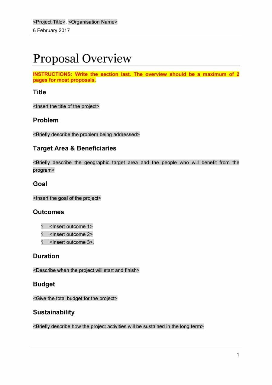 Professional Project Proposal Templates ᐅ Template Lab Inside Simple Project Proposal Template