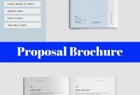 Proposal Brochure  Printable Graduation Invites  Project Proposal pertaining to Microsoft Word Project Proposal Template