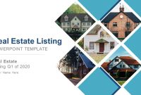 Real Estate Listing Powerpoint Template throughout Listing Presentation Template