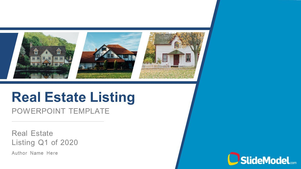 Real Estate Listing Powerpoint Template Within Listing Presentation Template