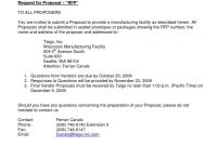 Request For Proposal Document Template  Mandanlibrary in Simple Request For Proposal Template