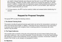 Response To Rfp Template Free Prettier Request For Proposal Template regarding Request For Proposal Template Word