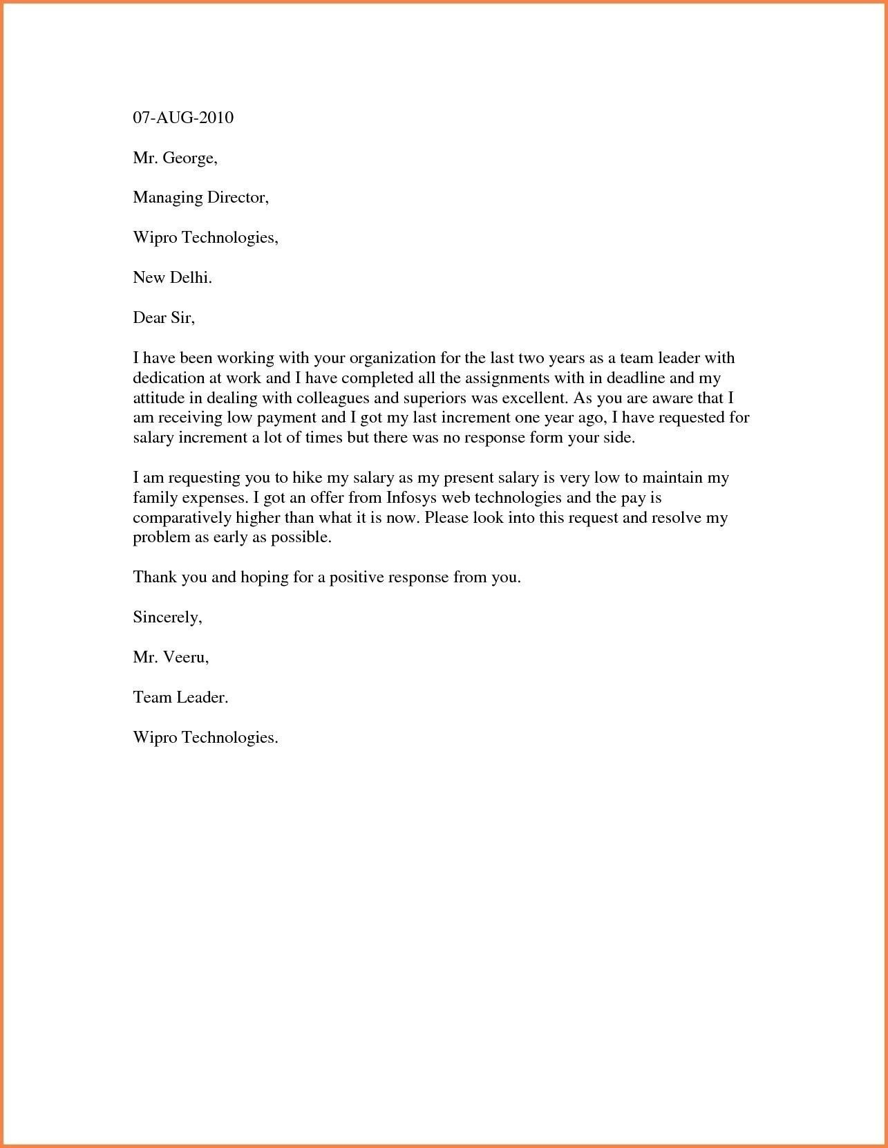 Salary Increase Letter Template Best Ideas Pay Australia For Inside Request For Raise Letter Template