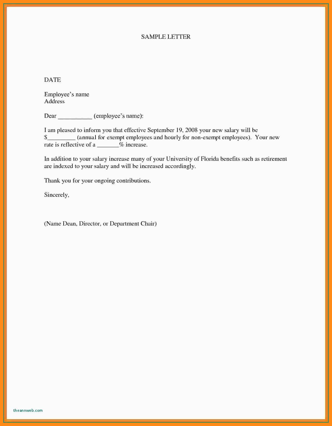 Salary Increase Request Letters  Elainegalindo Throughout Request For Raise Letter Template