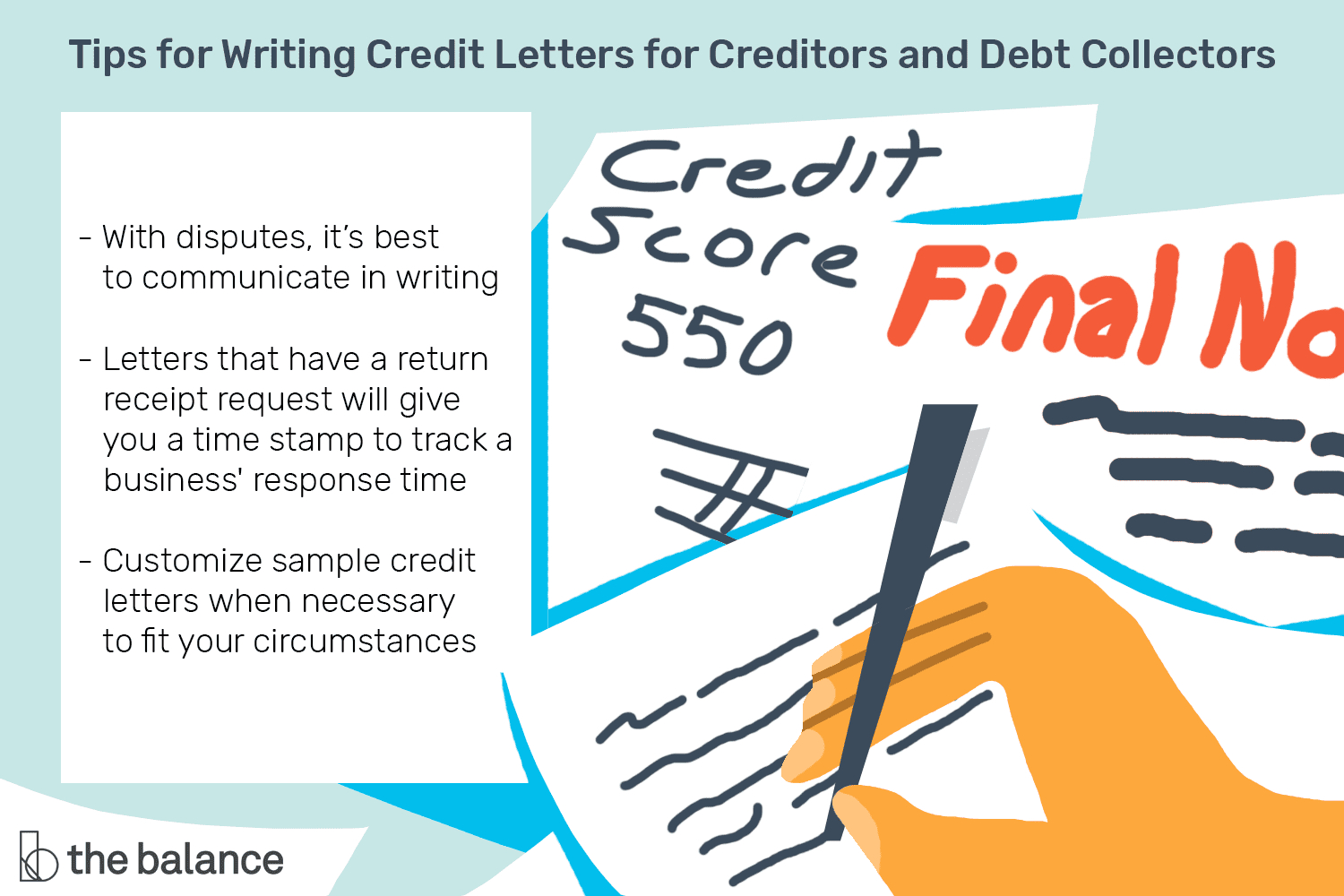 Sample Credit Letters For Creditors And Debt Collectors With Dispute Letter To Creditor Template