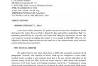 Sample Patient History  Docsharetips inside History Of Present Illness Template