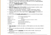 Sample Salary Negotiation Counter Offer Letter Valid Employment with Counter Offer Letter Template
