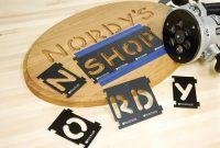 Signmaker's Kit Includes Number Kit Letter Kit Bushing  Bit in Router Letter Templates