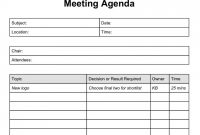 Simple Agenda Format Meeting Agenda Template L Schedule With Action pertaining to Simple Agenda Template