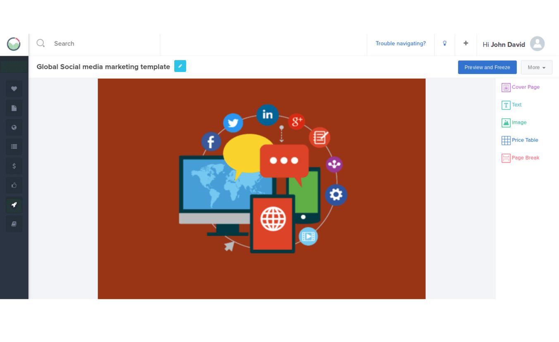Social Media Marketing Proposal Pdf  Social Media Proposal Sample For Social Media Marketing Proposal Template