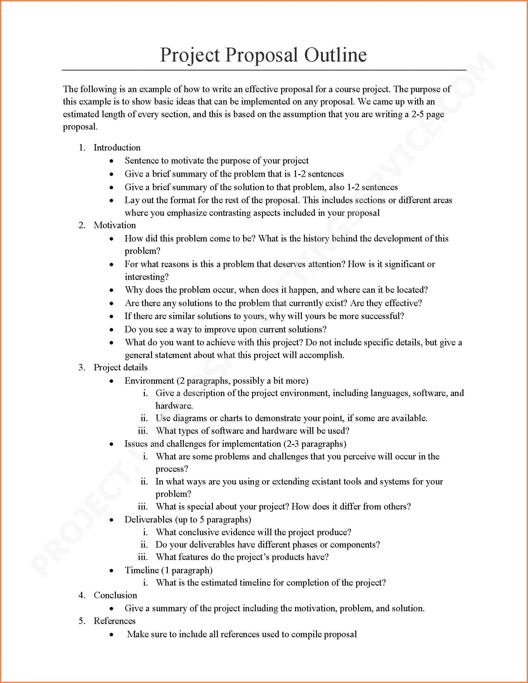 Software Project Proposal Examples  Pdf Word  Examples For It Project Proposal Template