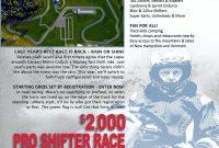 Sponsorship Letter Dirt Track Racing Proposal Template Monster inside Race Car Sponsorship Proposal Template