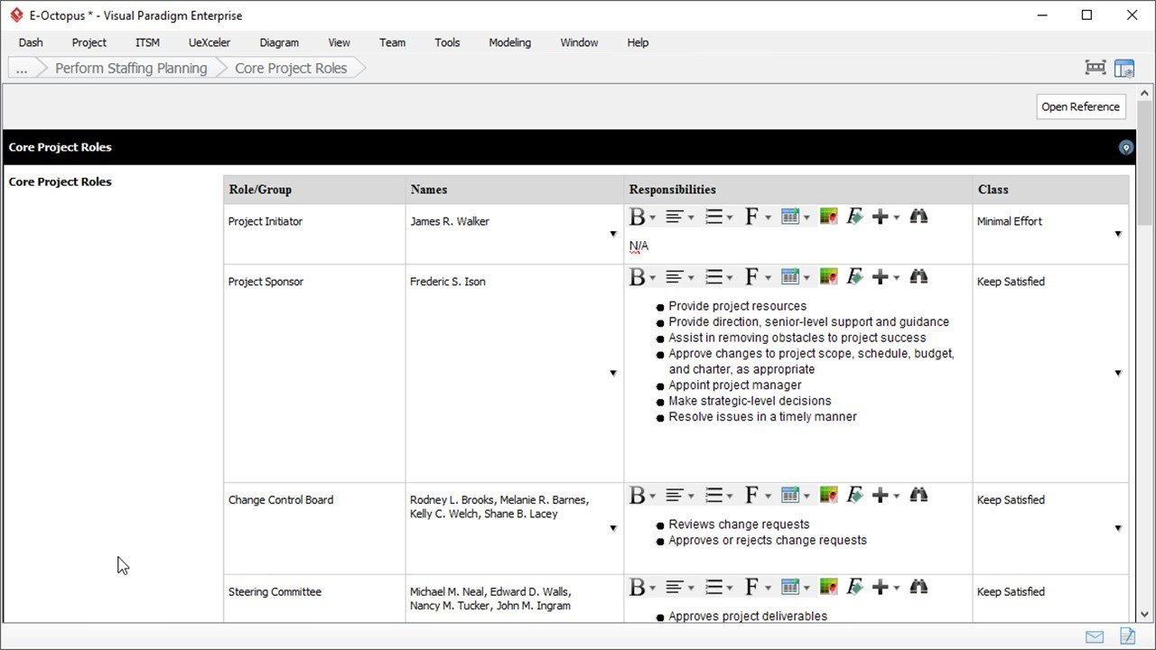 Staffing Plan Template  Project Management Intended For Staffing Proposal Template