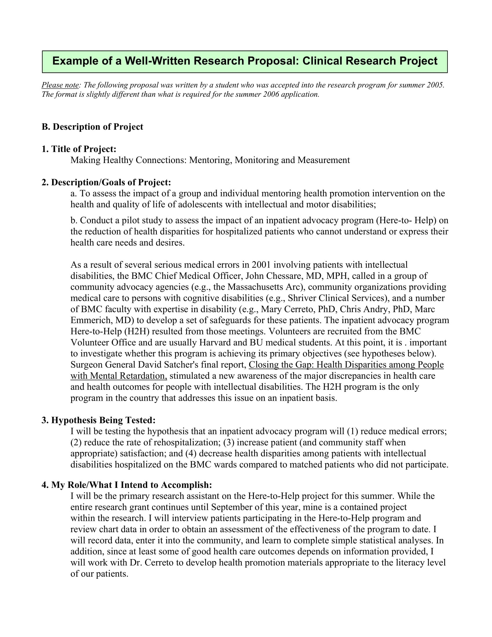 Student Project Proposal Examples  Pdf Word  Examples In Research Project Proposal Template