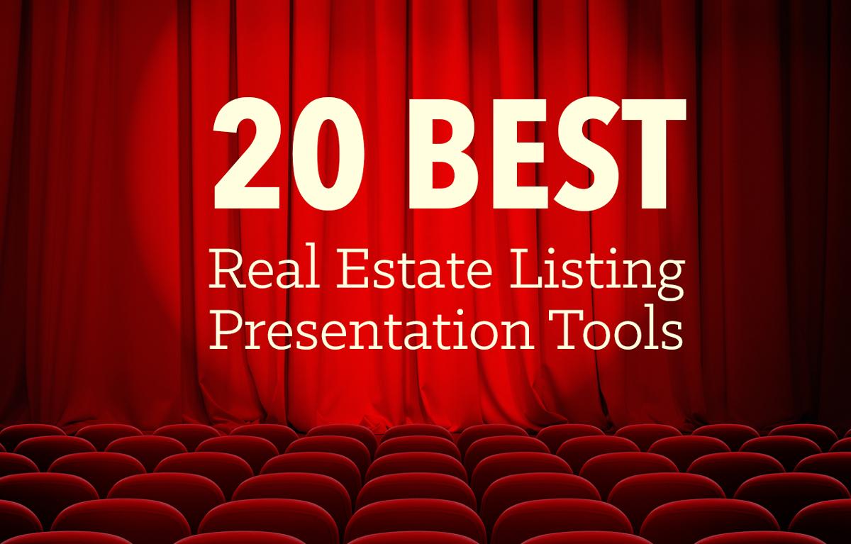 The Best Real Estate Listing Presentation Tools Regarding Listing Presentation Template