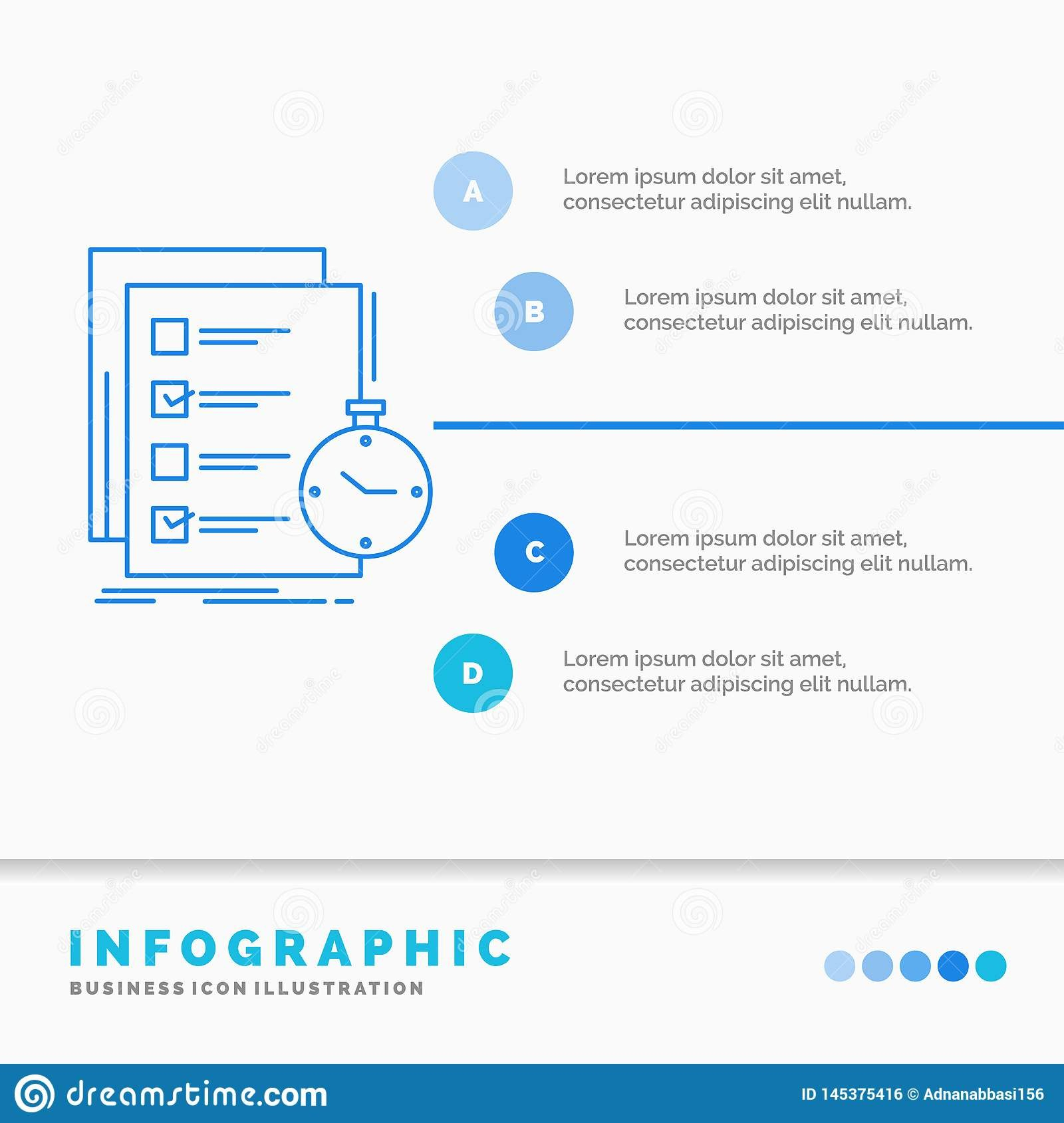 Todo Task List Check Time Infographics Template For Website And Intended For Presentation Check Template