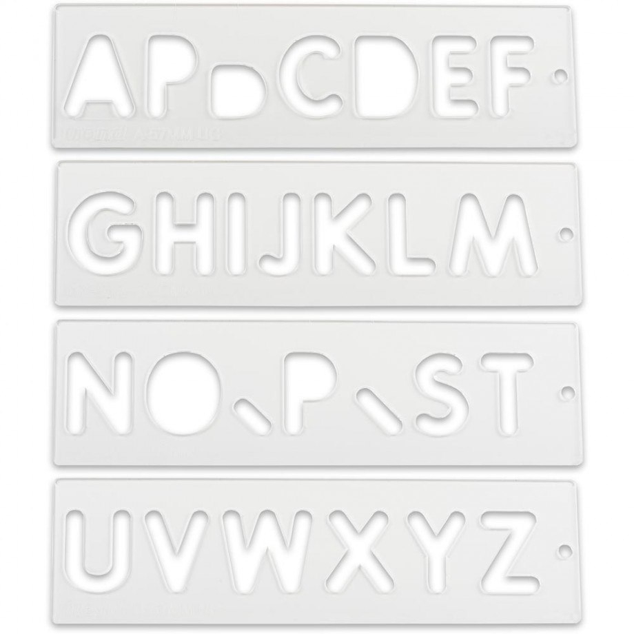 Trend Letter  Number Templates With Regard To Router Letter Templates